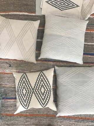 diamon eye pillows