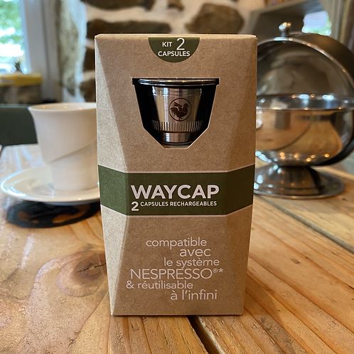 Kit 2 capsules Nespresso