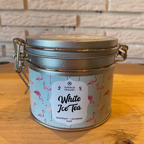 Thé blanc glacé