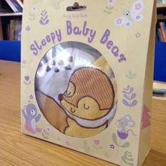 Sleepy Baby Bear Packaging