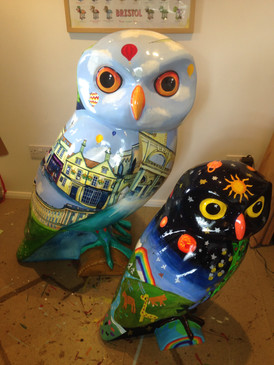 Street Wise Owl and WASPSchool Owl