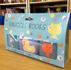 Snuggle Books packaging design