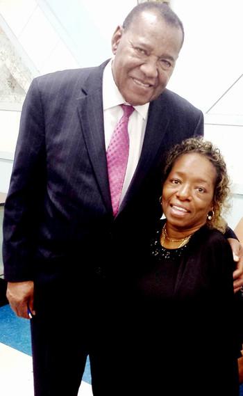 Dr. Joe Dudley & Tee at my 52nd Birthday
