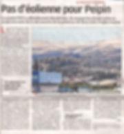 2018-3-23-La Provence-Pas d'eoliennes a