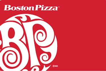 Boston Pizza $25 - $50