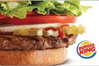 Burger King $25 - $50