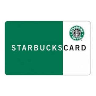 Starbucks $25 - $50