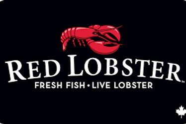 Red Lobster $25 - $50