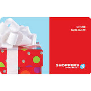 Shoppers Drug Mart $25 - $50