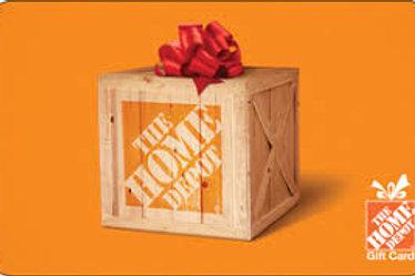 Home Depot $25 - $250