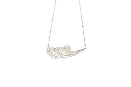 ONDE Silver Necklace