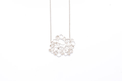 VITA Silver Necklace - Big