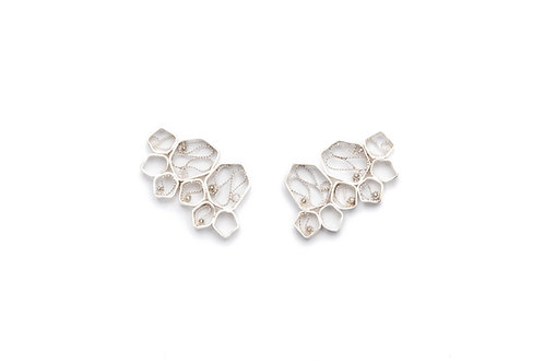 VITA Silver Earrings - Large