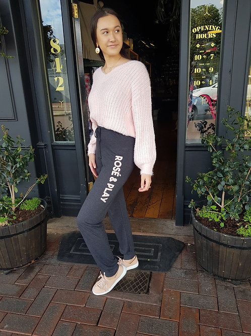 Rose' and Play Track Pants