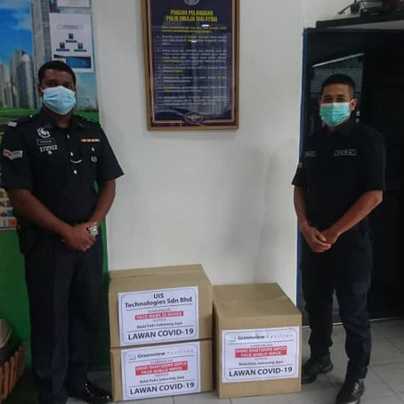 CSR Donation to PDRM