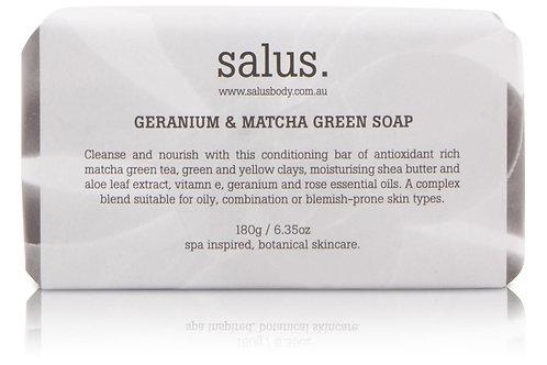 Geranium & Matcha Green Soap