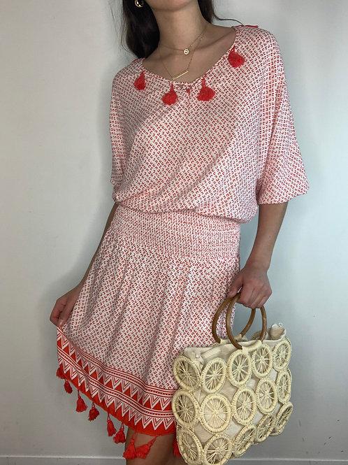 Cali Tassel Dress