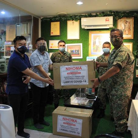 CSR Donation to Angkatan Tentera Malaysia - Markas Batalion 2 Rejimen 509