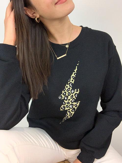 Leopard Lightning Sweatshirt