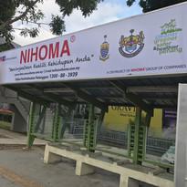 1st January 2018 - MBSP Bus Stop Adoption, Jalan Baru, Bukit Mertajam, Pulau Pinang