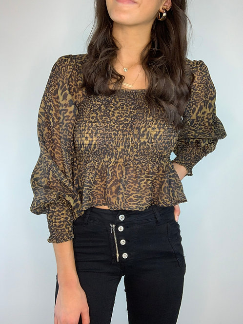 Leone' Cropped Top