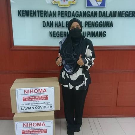 CSR Donation to KPDNHEP Negeri Pulau Pinang