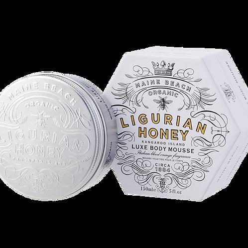 Organic Ligurian Honey Body Mousse 150ml