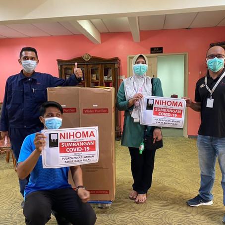 CSR Donation to PULAZA Pusat Latihan Zakat, Balik Pulau