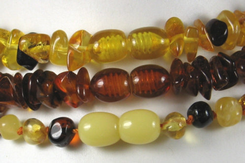 Clasps for amber beads (pack of 10). (See Video)