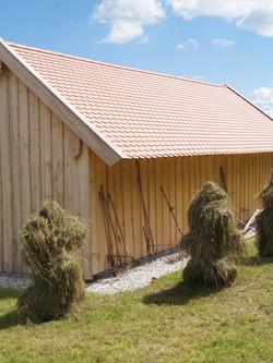 restaurierter Blockholzstadl Grossenast