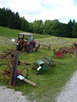 historische Geräte der Landwirtschaft
