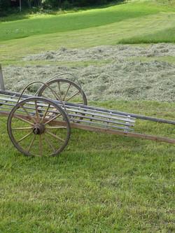 historisches Gerät der Landwirtschaft