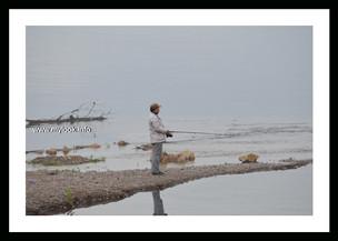 Китайский рыбак. р. Бурея