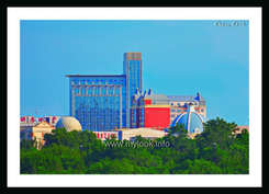 Голубое здание