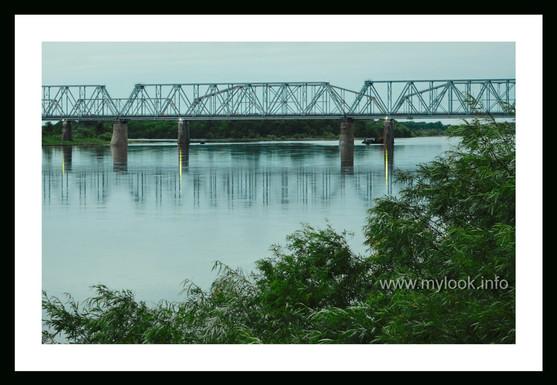 Железнодорожный мост через р.Бурея