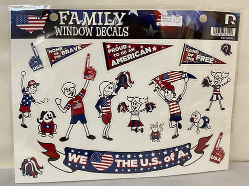 StickersUSA Family Decal