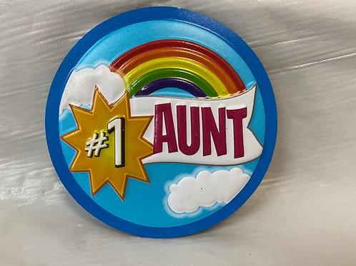 MagnetPVC - Aunt #1 Rainbow