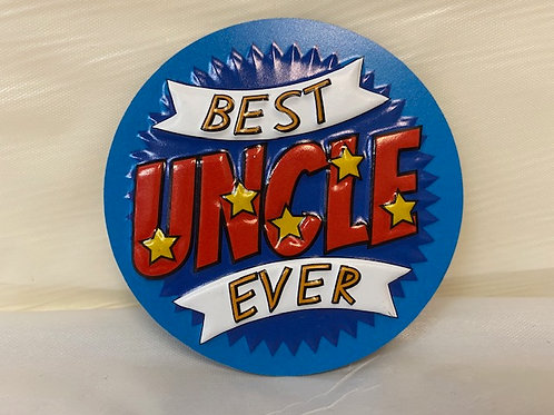 MagnetPVC - Uncle Best Ever