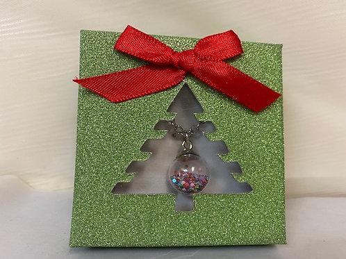 Holiday JewelryOrnament Neck-Xmas Tree Box