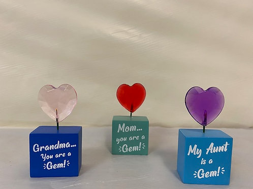FigurineHeart Gem - Grandma