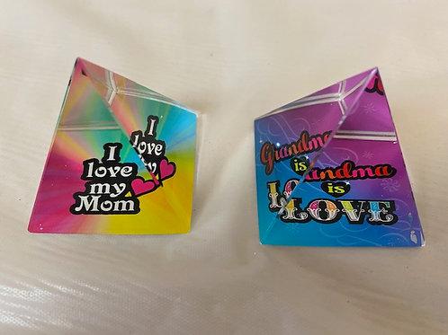PaperweightPyramid - Grandma is Love