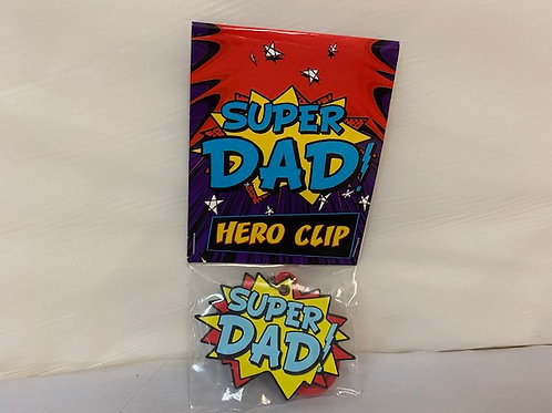 ClipPVC - Super Hero Dad