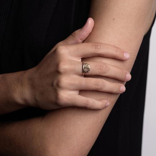 Deco Semi Ring