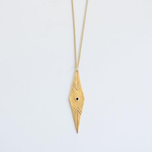 Axis Drop Necklace