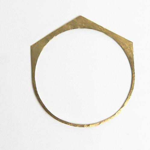 Hexagon Bangle