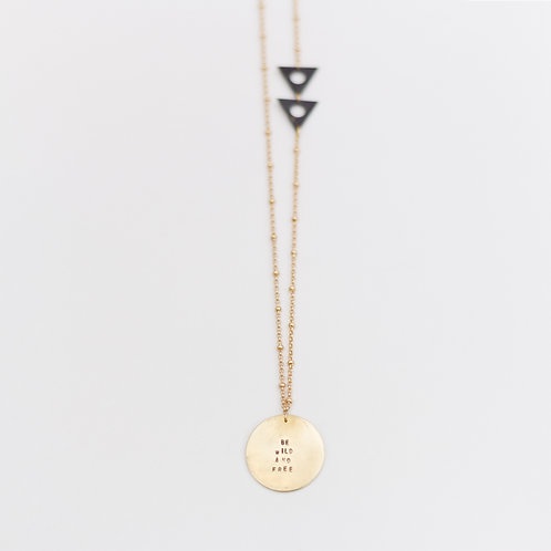 Be Wild and Free Necklace