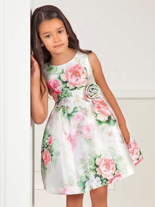 Bílé Stamps šaty s květinami