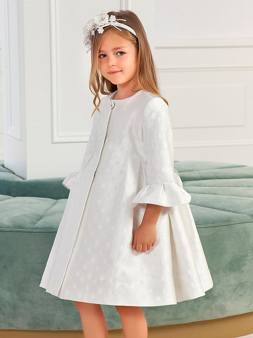 Bílý Glitter kabátek