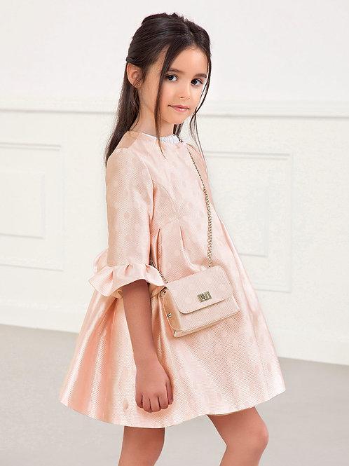 Světle růžový Glitter kabátek