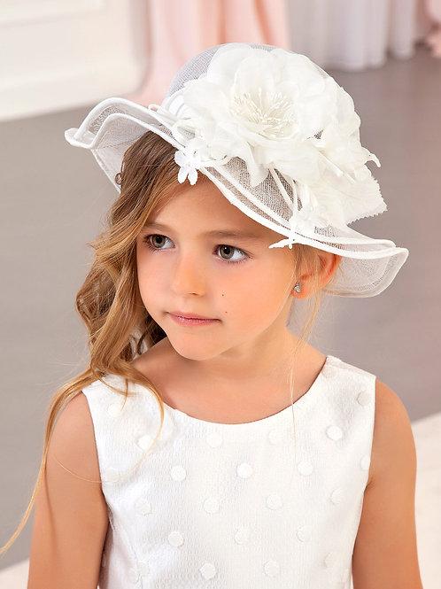 Květinový letní klobouk